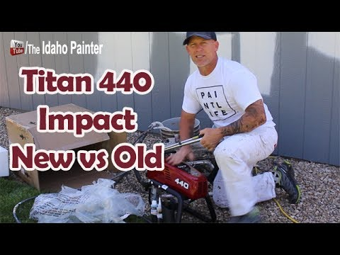 Titan 440 Impact Paint Sprayer Comparison