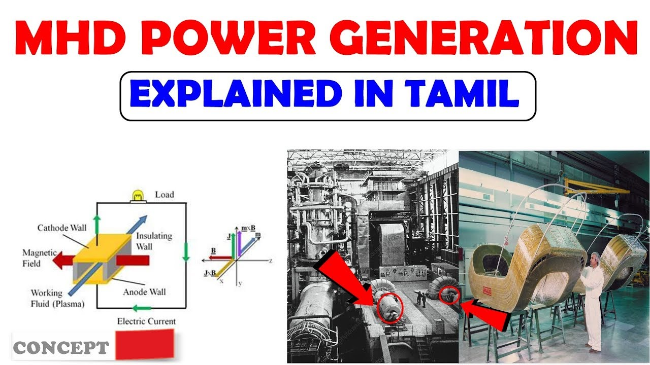 MHD Power Plant-எப்படி வேலை செய்கிறது ? | Construction And Operation |  Explained In Tamil
