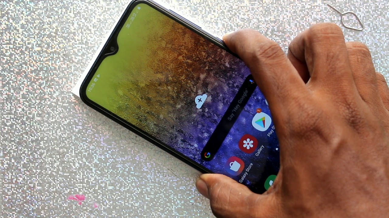How To Change Wallpaper In Samsung Galaxy A10 Youtube