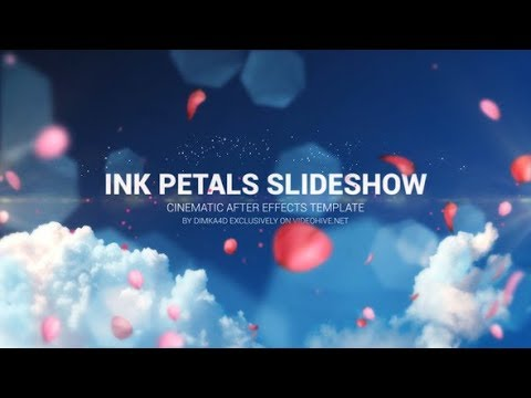Ink Petals Slideshow - After Effects Template - YouTube
