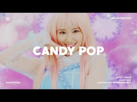 TWICE (트와이스) - Candy Pop | Line Distribution