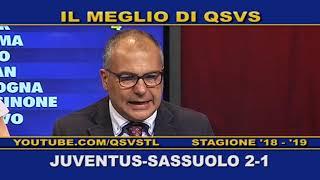 QSVS - I GOL DI JUVENTUS - SASSUOLO 2-1  - TELELOMBARDIA / TOP CALCIO 24