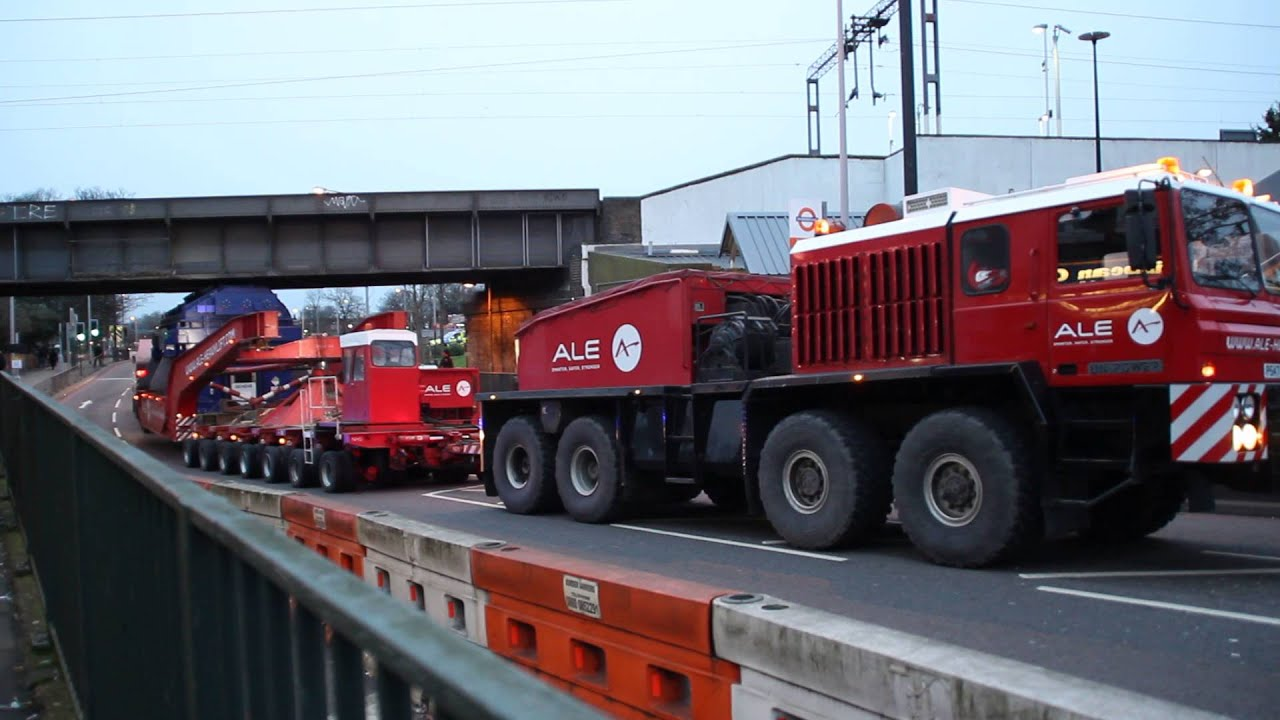 A L E Heavy Haulage Unipower North London Electrical