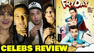 Fryday Movie Celebs Review | Govinda, Varun Sharma, Digangana | Fryday Review