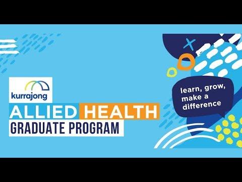 Kurrajong Allied Health Graduate Program - Apply Now