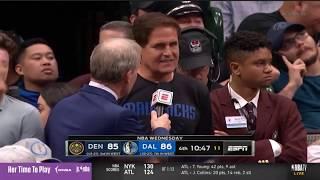 Mark Cuban Reaction to NBA season has been suspended