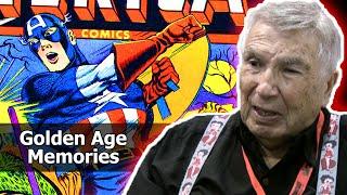 Golden Age Artist Allen Bellman Talks Joe Simon, Stan Lee, Don Rico & Martin Goodman!