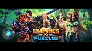 Knights of Avalon 20 Event Pulls/Summons Empires and Puzzles legendary and epic heros