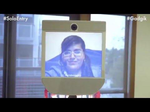 Tele-Dance Robot | Kavita Krishnaswamy | World of Dance #SoloEntry #Gadgik