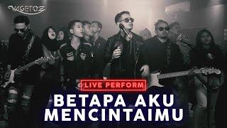 Download lagu Vagetoz - Betapa Aku Mencintaimu (LIVE at Abbe Studio)