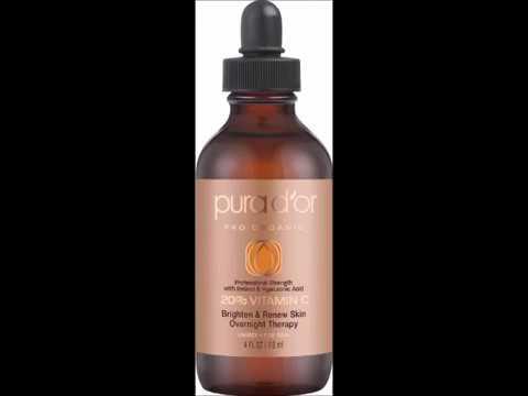 PURA DOR 20% Vitamin C Serum Professional Strength Overnight Therapy, 4 Fluid Ounce Premium Beauty Balm SPF 45 (02 MEDIUM-DEEP), This color No. 2 Medium-Deep is for darker skin tone By Dr.Jart