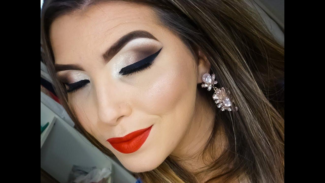 Maquiagem para formatura clássica de noite