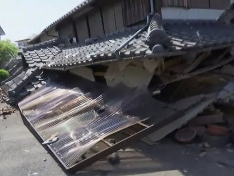 Raw: Aftermath of Deadly Japan Earthquake