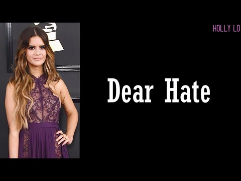 Dear Hate - Maren Morris & Vince Gill (Lyrics) Mp3