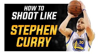 How to Shoot like Stephen Curry: Shooting Form Blueprint