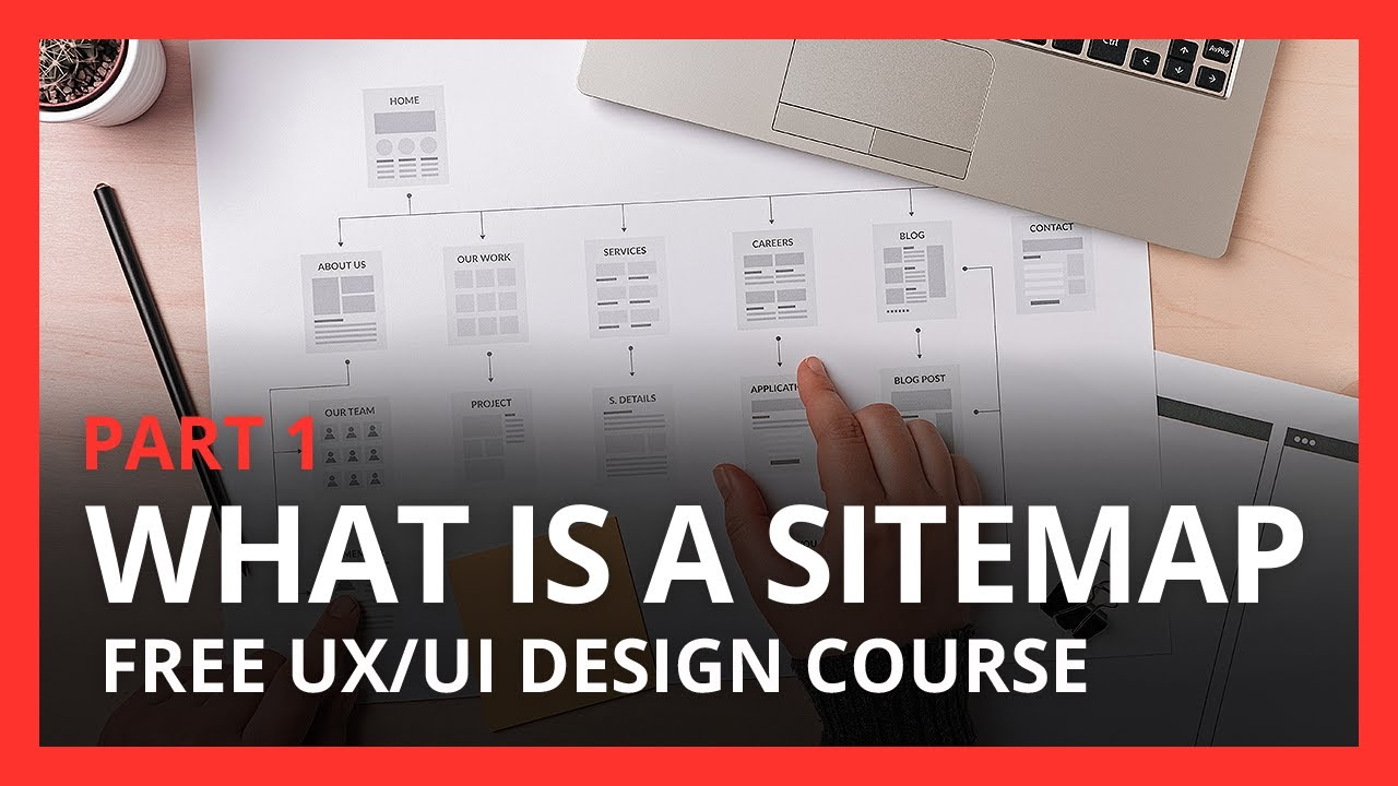 Download What is a User Sitemap Tutorial for UX UI Beginners   Free UX UI Design Course   Ep 3   Part 1