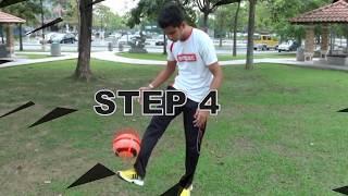 Menimbang Bola (Juggling) ::DROP BALL:::Akademi Bola Sepak AMPAC