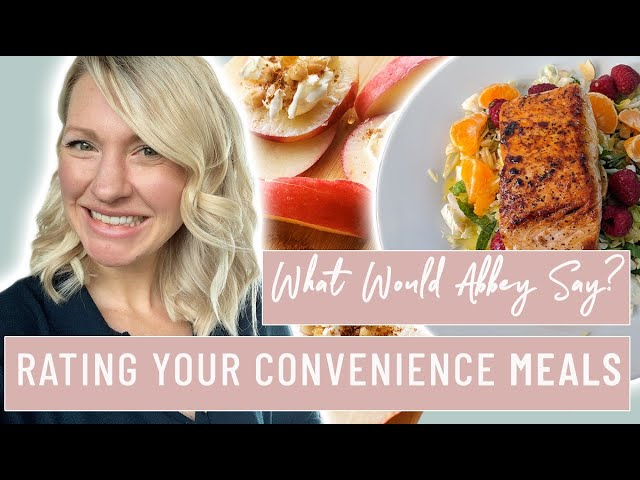 Dietitian Reviews SUBSCRIBERS CONVENIENCE MEALS (Will She Approve??)