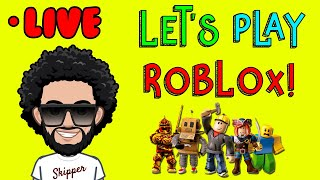 LIVE NOW on ROBLOX LIVESTREAM | Join Me Let's Play Roblox!