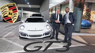 BUYING A PORSCHE GT3 IN A SUIT