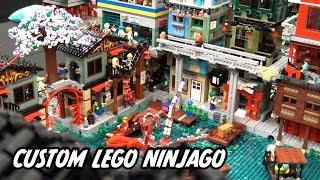 Giant LEGO NINJAGO City Created by 30 People!