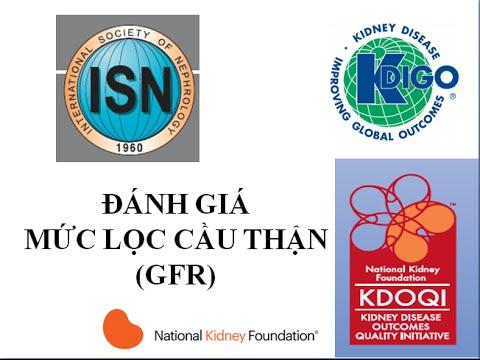 CKD3 (bệnh thận mạn):  Đánh giá mức lọc cầu thận