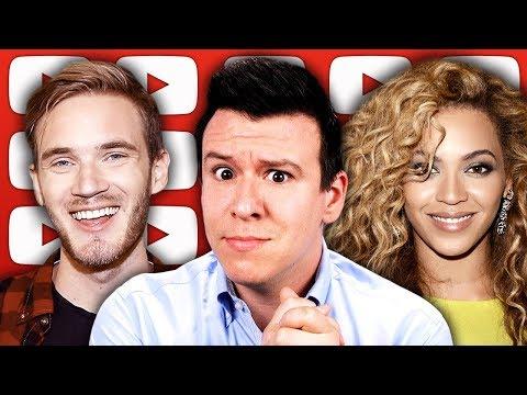 "PewDiePie's ""Congratulations"" Trojan Horse, Beyonce Outrage, Nipsey Hussle, & Wild Ukraine Election"