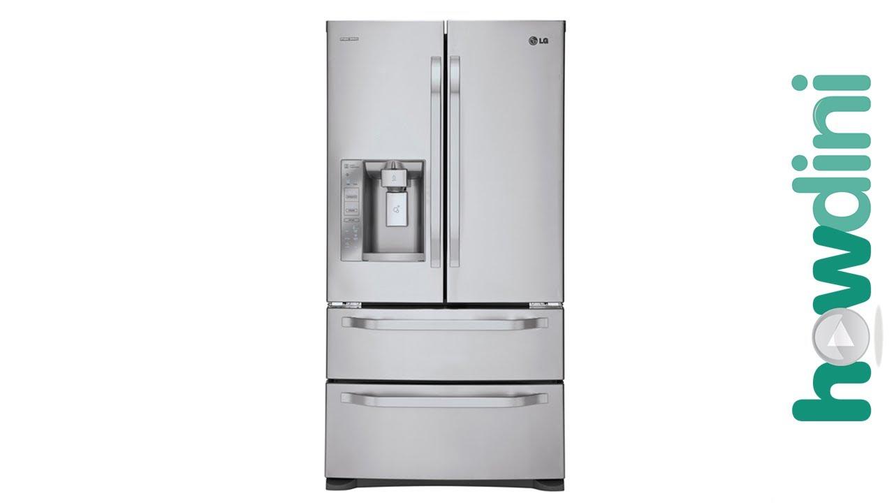 how to make lg fridge stop beeping