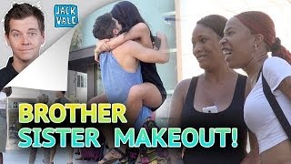 Brother Sister Make Out Prank!