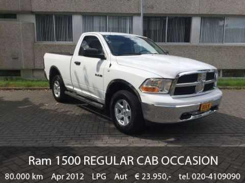 Dodge Ram 1500 Regular Cab Occasion Bj 2012 Youtube