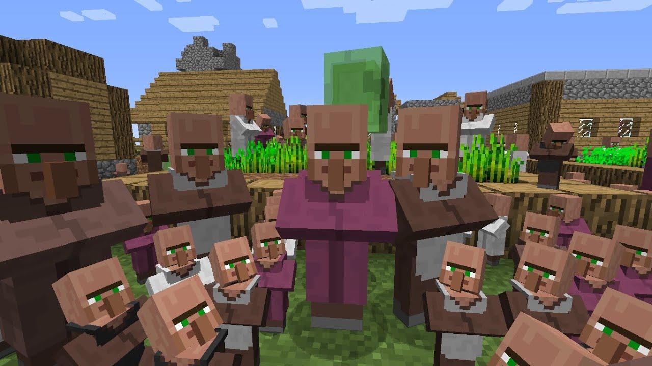 Minecraft: Villager sound (9 Hours version) - YouTube