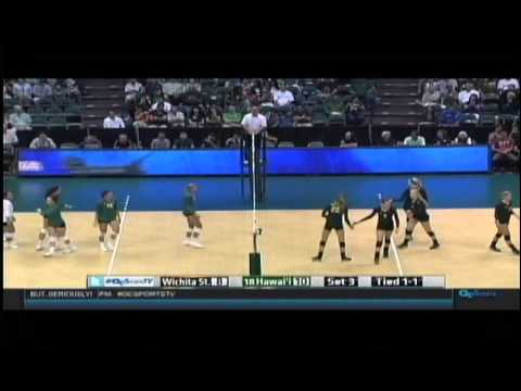 Rainbow Wahine Volleyball 2015 - #18 Hawaii Vs Wichita State