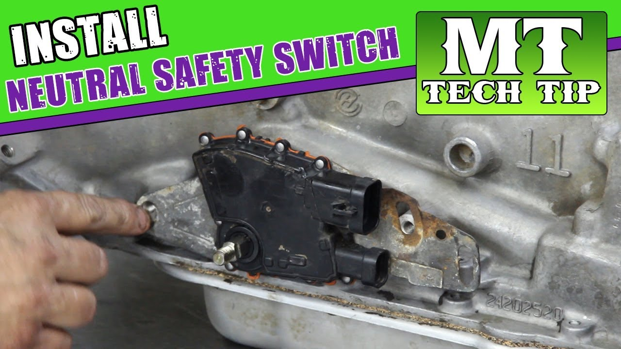 4l60E Neutral Safety Switch - YouTube