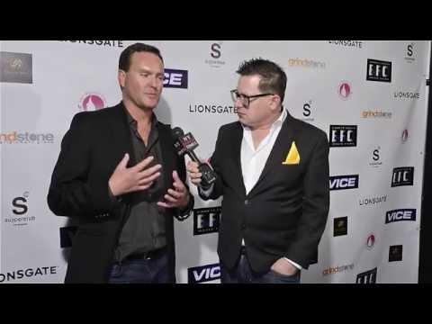 Director Brian A. Miller interview at Vice Premiere in Los Angeles, CA
