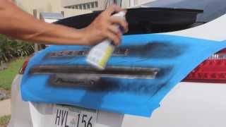 Жидкая резина Plasti Dip на эмблеме авто. Как нанести своими руками.(Купить Plasti Dip можно тут: www.AVTOPLENKA.com В данном видео-уроке показан процесс дипирования эмблемы авто., 2013-05-19T13:33:12.000Z)