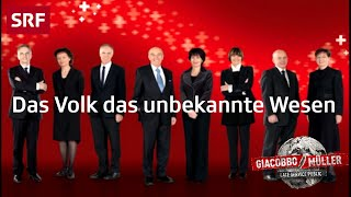 Das Volk das unbekannte Wesen | Giacobbo / Müller | SRF Comedy