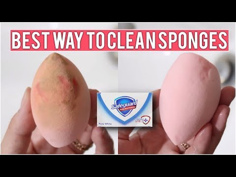 How to: Clean a Makeup Sponge Easy & Cheap Philippines