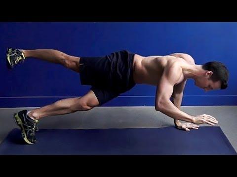 Logra un abdomen de hierro con estas variantes del plank