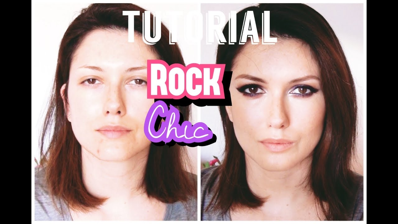 Tutorial de Maquillaje Rock Chic  YouTube