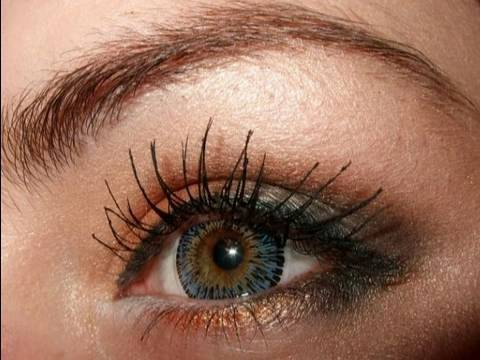 make up for blue green eyes tutorial youtube