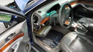 99 Audi A4 Quattro fuel pump relay location