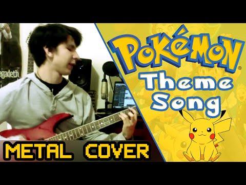 POKEMON Theme Song - Guitar Remix (Symphonic Rock)   AHmusic