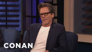 "Kevin Bacon Enjoys Cursing In A ""Motherf****** Boston Accent"" - CONAN on TBS"