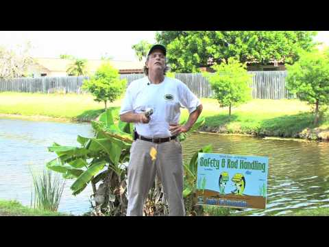 Learn How to Fish For Beginners (Chapter 1 Safety and Rod Handling)