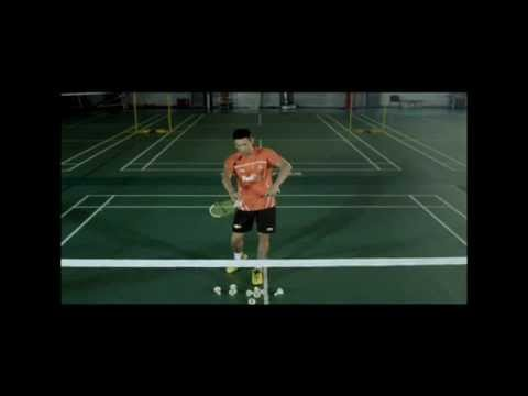 Lin Dan Demonstrates The Backhand Serve Technique And Shares Why It Is A Must-learn