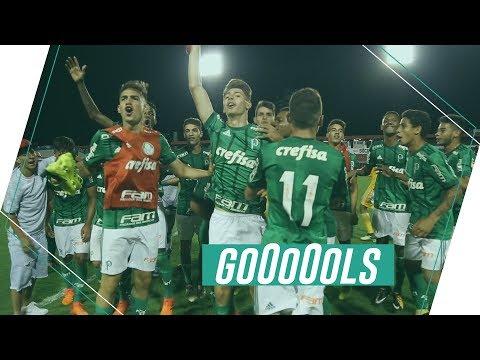 Gols - Palmeiras 2 x 1 Ponte Preta - Final Paulista Sub-17
