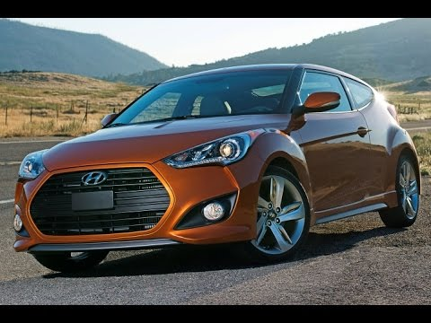 2015 Hyundai Veloster Start Up and Review 1.6 L 4-Cylinder Turbo
