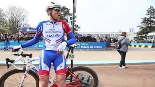 Dans l'ambiance de l'arrivée de Paris-Roubaix 2019