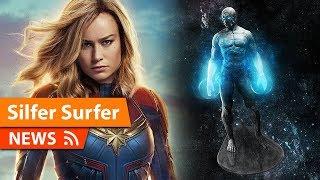 Silver Surfer rumored for Captain Marvel 2
