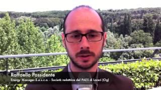 A+COM 2013 - Raffaello Possidente, Energy Manager S.e.s.c.o., società redattrice PAES di Loceri (Og)